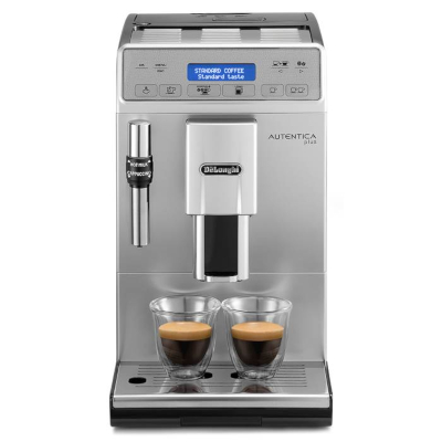 Image of DeLonghi Autentica Plus Bean to Cup Coffee Machine ETAM29.620.SB Silver & Black