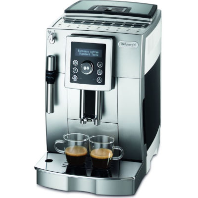 Image of DeLonghi Bean to Cup Coffee Machine ECAM23.420 Black & White