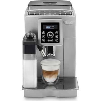 Image of DeLonghi Bean to Cup Coffee Machine ECAM23.460 Silver & Black