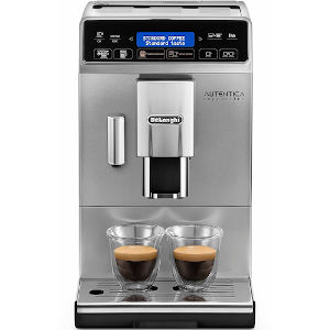 Image of DeLonghi Autentica Cappuccino Bean to Cup Coffee Machine ETAM29.660.SB Silver