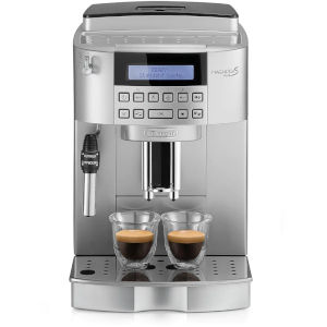Image of DeLonghi Magnifica S Bean to Cup Coffee Machine ECAM 22.320.SB Silver & Black
