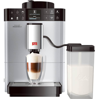 Image of Melitta Passione OT Bean to Cup Coffee Machine F53/1-101 Silver