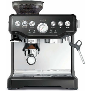Image of Sage Barista Express Bean to Cup Coffee Machine BES875UK Black Sesame