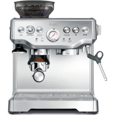 Image of Sage Barista Express Bean to Cup Coffee Machine BES875UK Brushed Stainless Steel