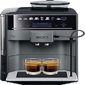 Image of Siemens IQ500 Bean to Cup Coffee Machine TE651209RW Black Titanium