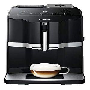 Image of Siemens TI301209RW Espresso machine 1.4L 1cups BlackSilver Coffee Maker TI301209RW silver
