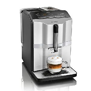 Image of Siemens Fully Automatic Bean to Cup Coffee Machine TI353501DE Black & Stainless Steel