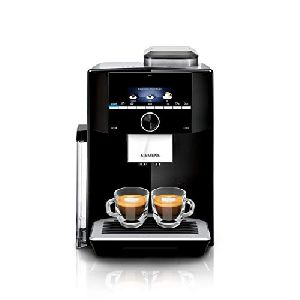 Image of Siemens Fully Automatic Bean to Cup Coffee Machine TI923509DE Black & Silver