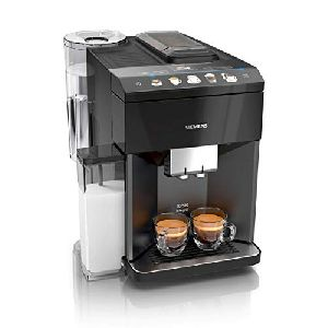 Image of Siemens Fully-auto EQ.500 Bean to Cup Coffee Machine TQ505D09 Black