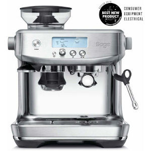 Image of Sage The Barista Pro Bean to Cup Coffee Machine SES878BSS Brushed Stainless Steel