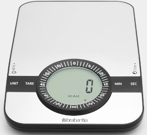 Image of Brabantia Digital Kitchen Scale with Timer