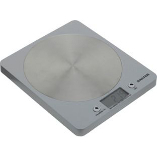 Image of Disc Electronic Silver Kitchen Scale