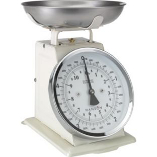 Image of Hanson Traditional Cream Mechanical Kitchen Scale