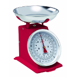 Image of Hanson Traditional Red Mechanical Kitchen Scale
