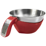Image of Morphy Richards Red Digital Jug Scales