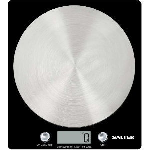 Image of Disc Electronic Black Kitchen Scale