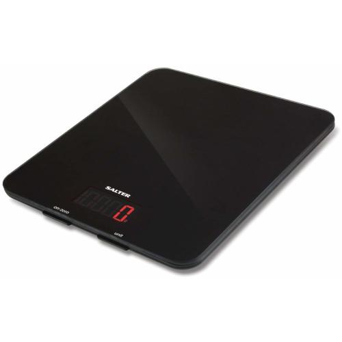 Image of Salter Large Platform Electronic Kitchen Scale - Black