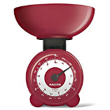 Image of Salter Red Plastic Mechanical Orb Scale