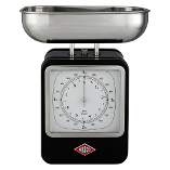 Image of Wesco Black Steel Retro Kitchen Scale